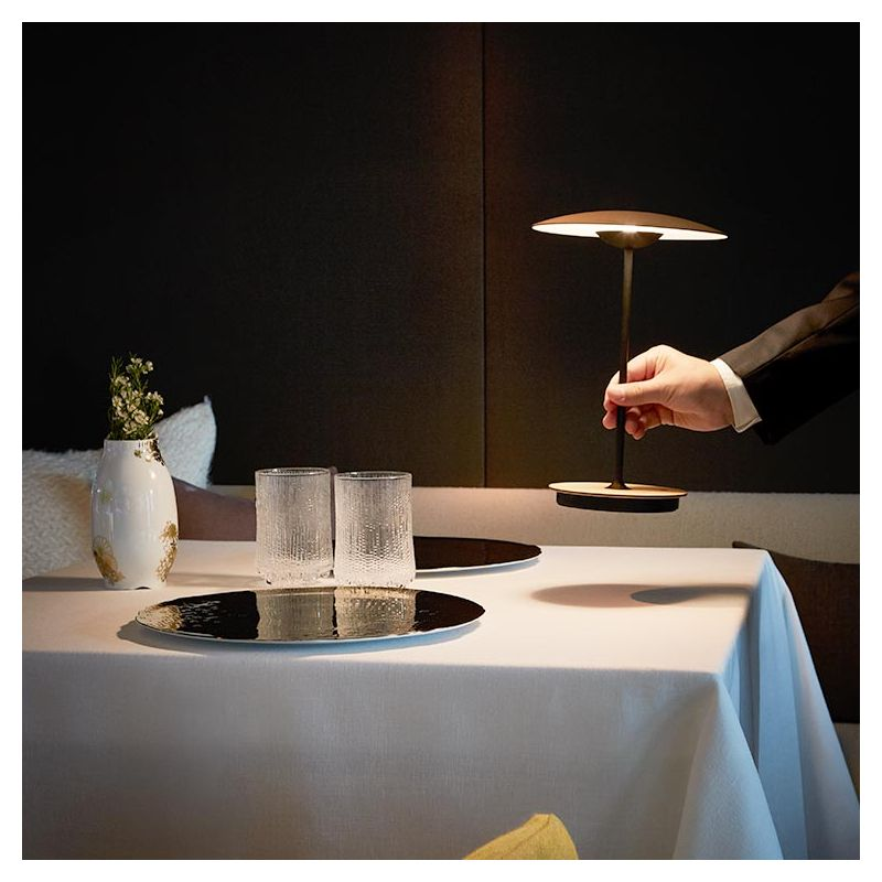 Ginger Led De Arjl354q Mlampe Table Marset Sans Fil 20 8nX0kwPO