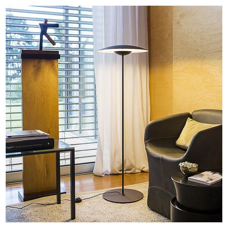 ginger p lampe de sol led marset en ch ne ou weng. Black Bedroom Furniture Sets. Home Design Ideas