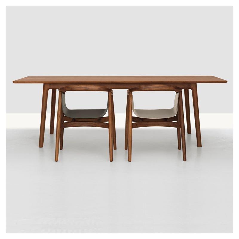 table design e8 rectangulaire bois zeitraum. Black Bedroom Furniture Sets. Home Design Ideas