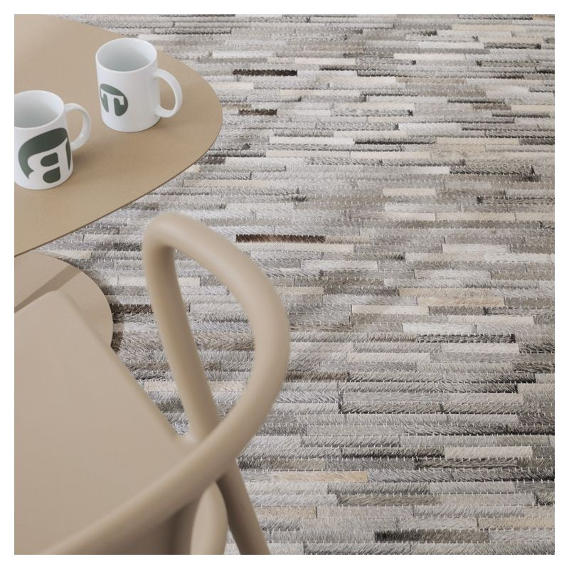 hairon tapis 100 cuir toulemonde bochart. Black Bedroom Furniture Sets. Home Design Ideas