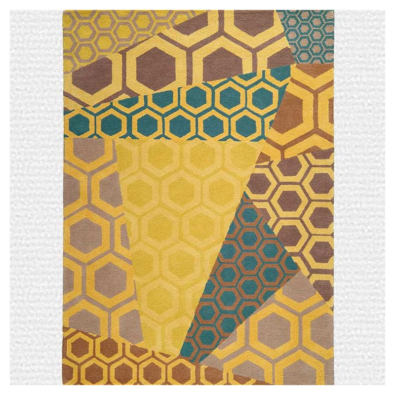 inca tapis motif toulemonde bochart 100 laine. Black Bedroom Furniture Sets. Home Design Ideas