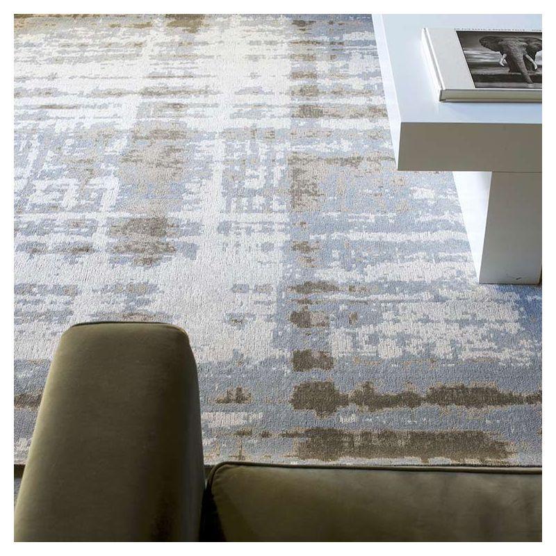 pixel tapis coton toulemonde bochart gris ou jaune. Black Bedroom Furniture Sets. Home Design Ideas