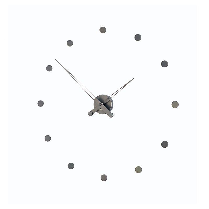 rodon t horloge design nomon acier graphite 70. Black Bedroom Furniture Sets. Home Design Ideas