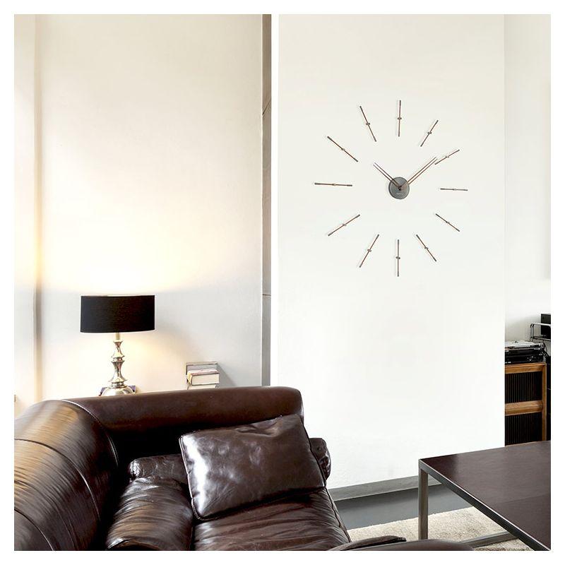 design nomon horloge murale mini merlin t nomon repres horaires with horloge murale design italien. Black Bedroom Furniture Sets. Home Design Ideas