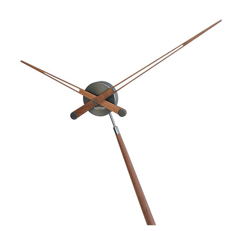 puntero t horloge poser nomon graphite noyer. Black Bedroom Furniture Sets. Home Design Ideas