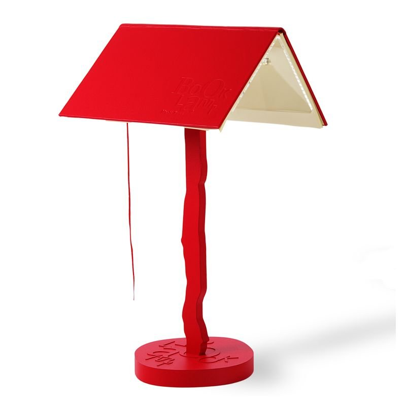 lampe de table design booklamp lujan sicilia. Black Bedroom Furniture Sets. Home Design Ideas