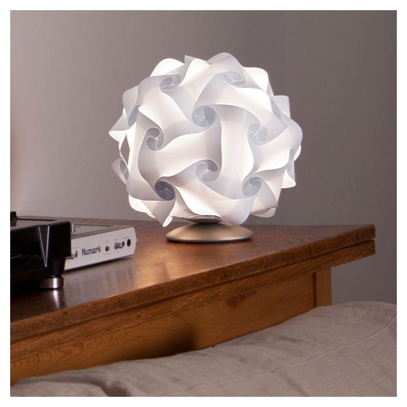 Lampe de table blanche, petit modèle COL Lujan+Sicilia