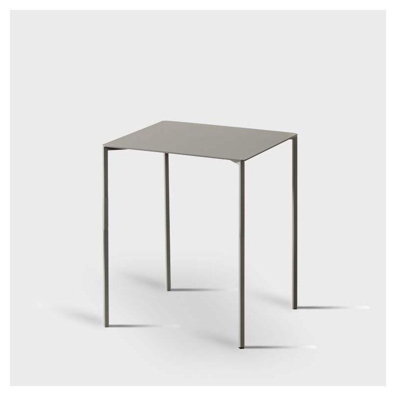 Guéridon table d'appoint TRAZO Kendo, coloris pierre