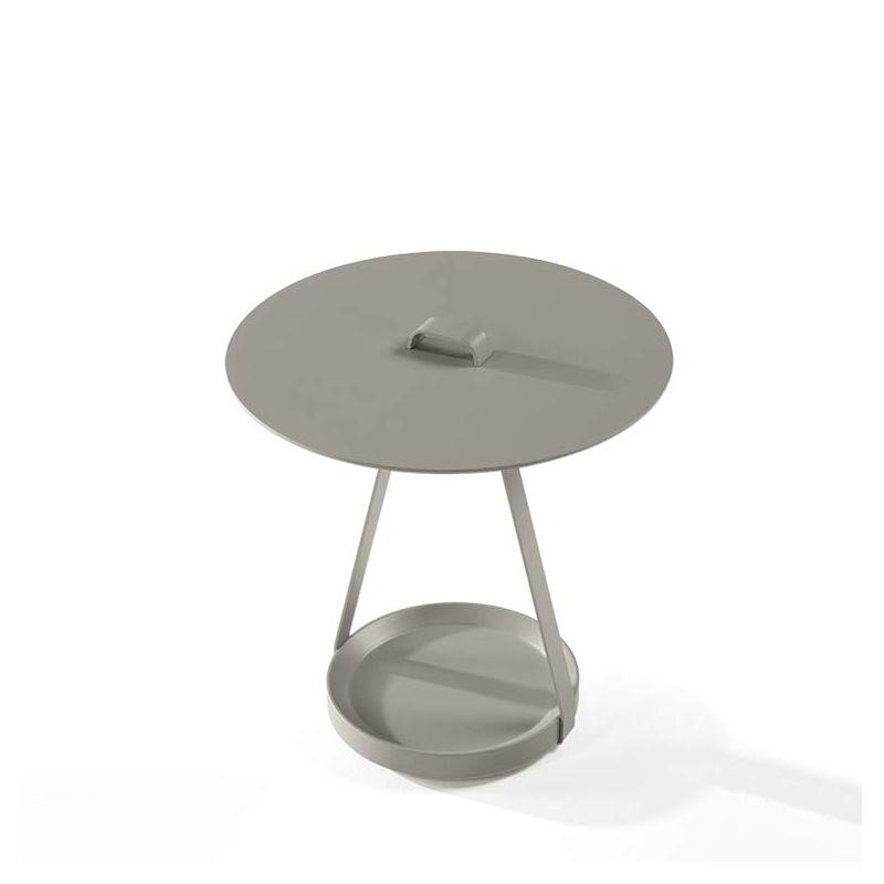 zoe table d 39 appoint ronde kendo design discoh. Black Bedroom Furniture Sets. Home Design Ideas