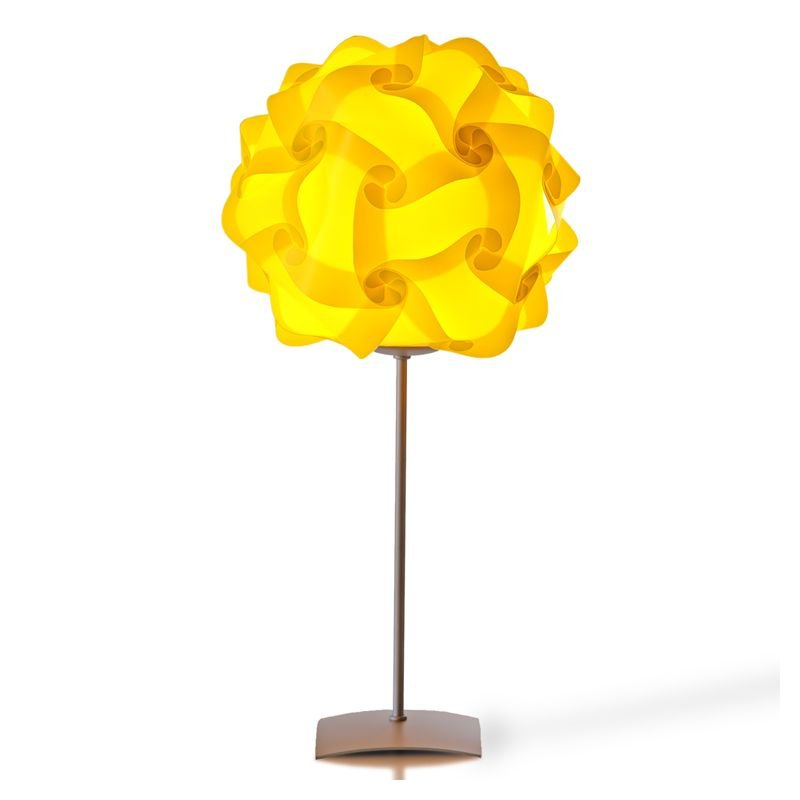 Col lampe de table chevet design lujan sicilia for Lampe de table jaune