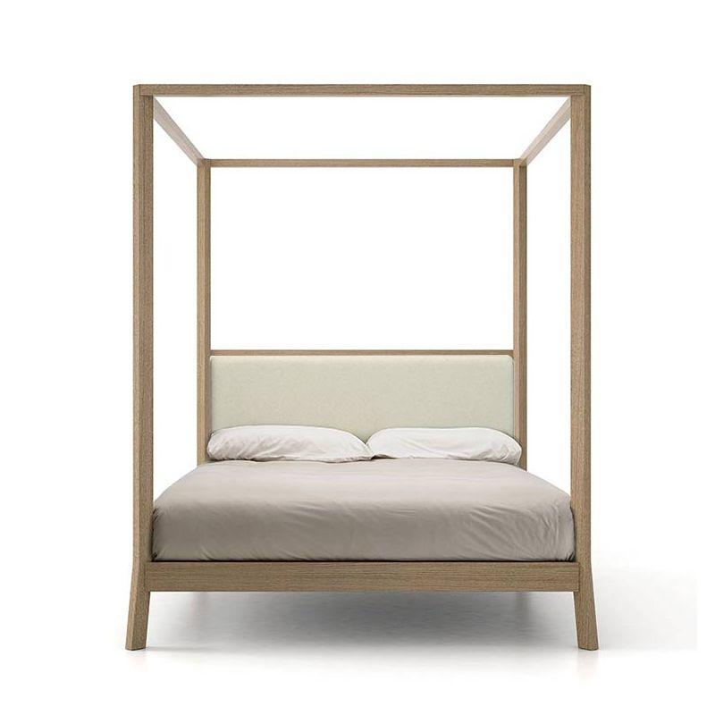 breda lit baldaquin 160x200 punt design bois massif. Black Bedroom Furniture Sets. Home Design Ideas