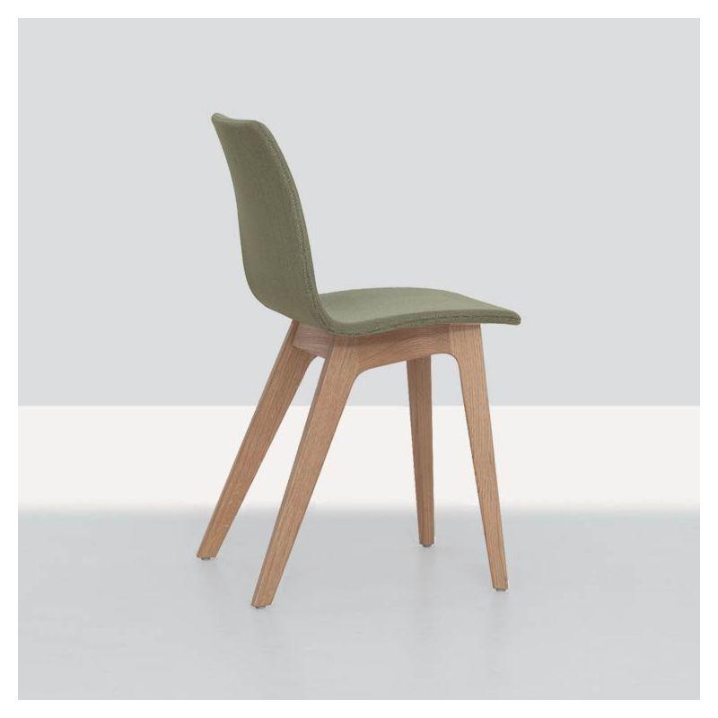 morph chaise bois massif zeitraum rembourr e tissu. Black Bedroom Furniture Sets. Home Design Ideas