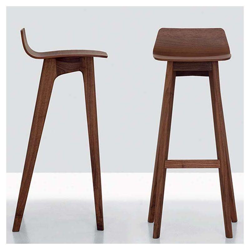 morph bar tabouret de bar design zeitraum noyer ch ne. Black Bedroom Furniture Sets. Home Design Ideas