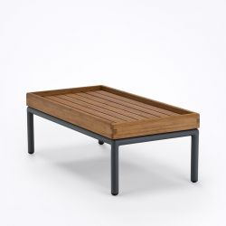 Table basse rectangulaire outdoor LEVEL Houe