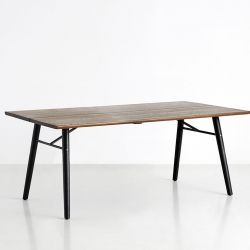 Table bois rectangulaire 205 cm ALLEY Woud