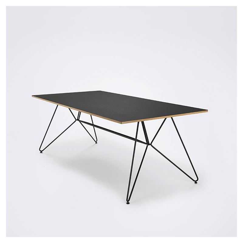 sketch table design linol um m tal houe a s rallonges. Black Bedroom Furniture Sets. Home Design Ideas