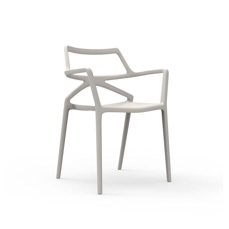 Delta, fauteuil de jardin design Vondom empilable
