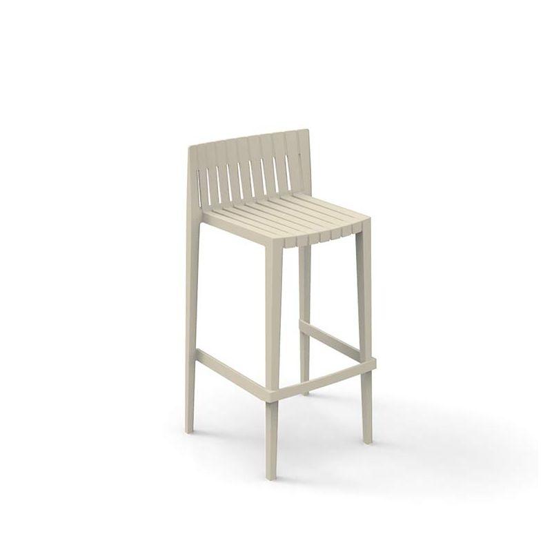 spritz chaise de bar empilable vondom assise 66 76 cm. Black Bedroom Furniture Sets. Home Design Ideas