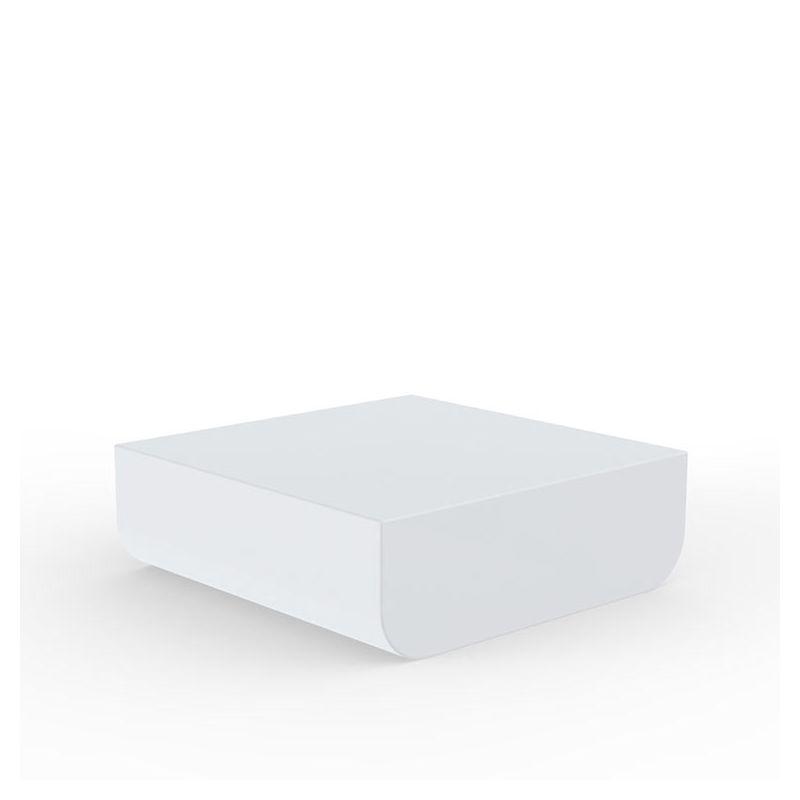Table basse indoor outdoor blanche ULM Vondom