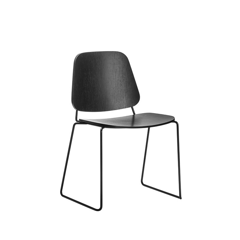 Chaise luge noire SKUDO Møbel Copenhagen