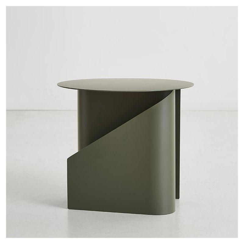 Table basse kaki SENTRUM Woud avec rangement et porte-revue