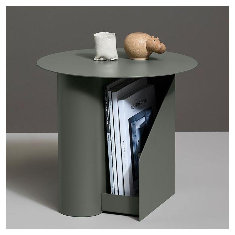 Sentrum Table Basse Design Woud Rangement Integre