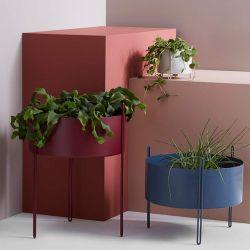 Série de pots et bacs à plantes PIDESTALL FLOWERPOT Woud