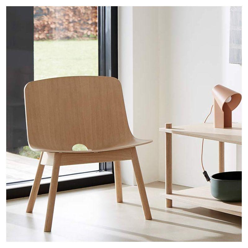 Lounge Bois Design En MonoFauteuil Woud NywOv80mn