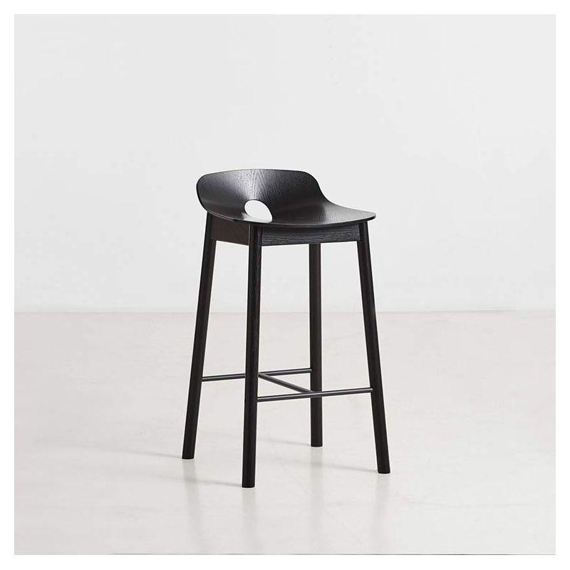 Mono chaise de bar design en bois woud - Chaise de bar design ...