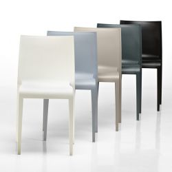 Chaises indoor outdoor NASSAU 533 Metalmobil