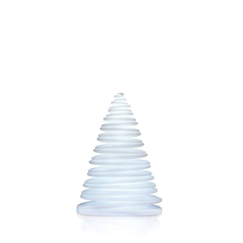 Sapin design lumineux CHRISMY hauteur 1m Vondom, lumière LED blanche