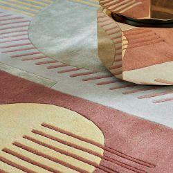Détail motif du tapis ETTORE Toulemonde Bochart
