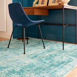 Tapis MOSAÏC Toulemonde Bochart, turquoise