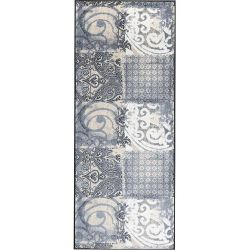 Tapis de couloir lavable 75 x 190 cm ARABESQUE Wash and Dry