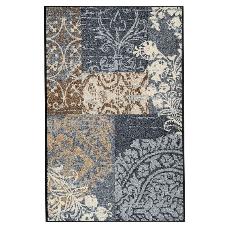 Tapis lavable 75 x 120 cm ARMONIA GREY Wash and Dry