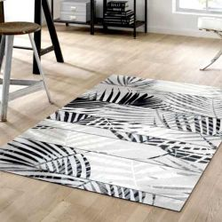 Tapis lavable PALM TREE Wash and Dry 110 x 175 cm