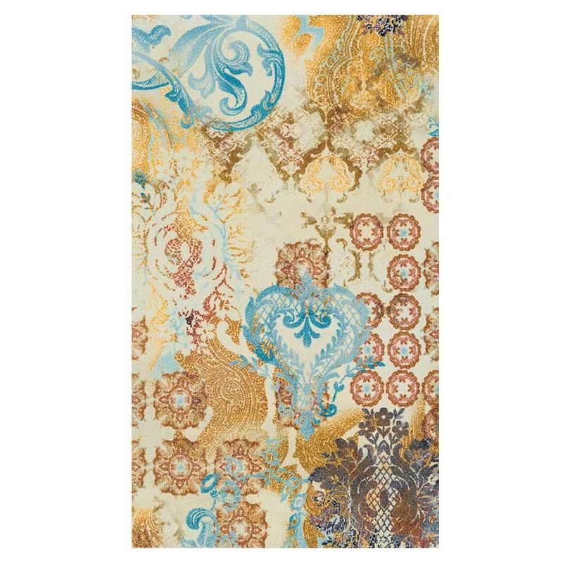 Tapis lavable SAMIRA Wash and Dry 70 x 120 cm