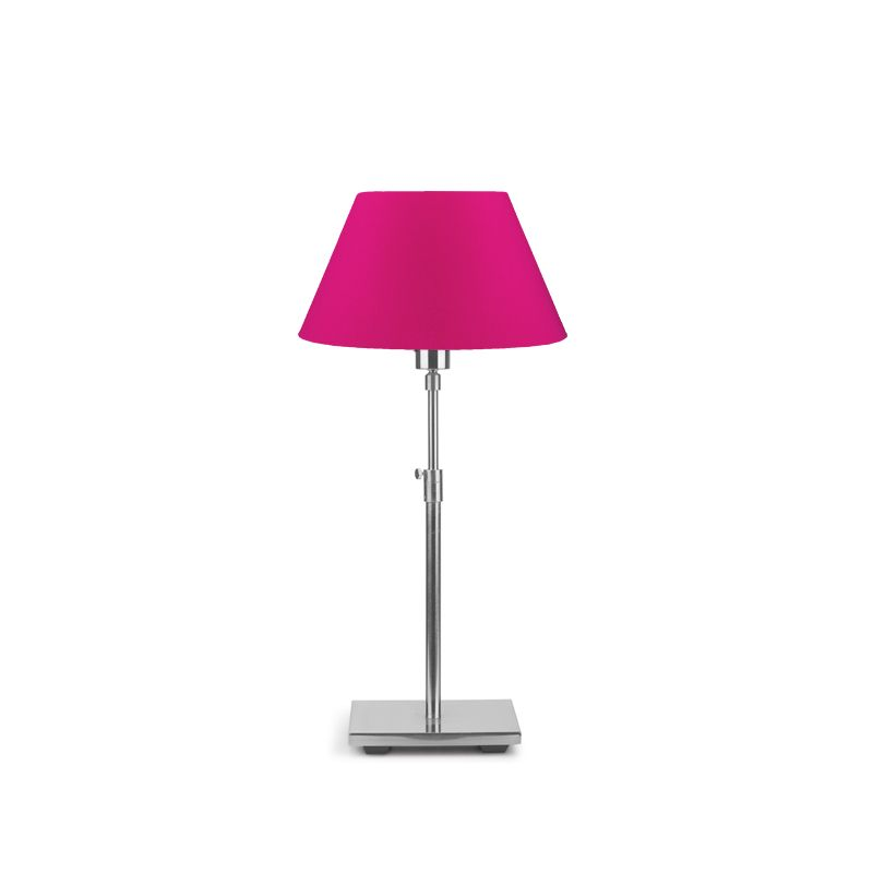 Lampe de table BONN abat-jour conique fuchsia It's About Romi