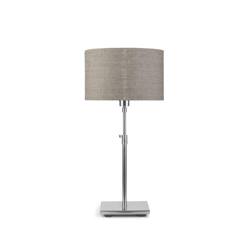 Lampe de table BONN abat-jour 32 x 20 lin foncé It's About Romi