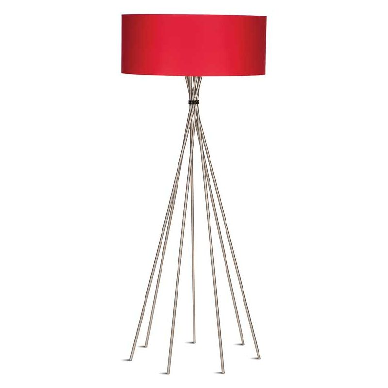 Lampadaire rouge LIMA XXL It's About Romi