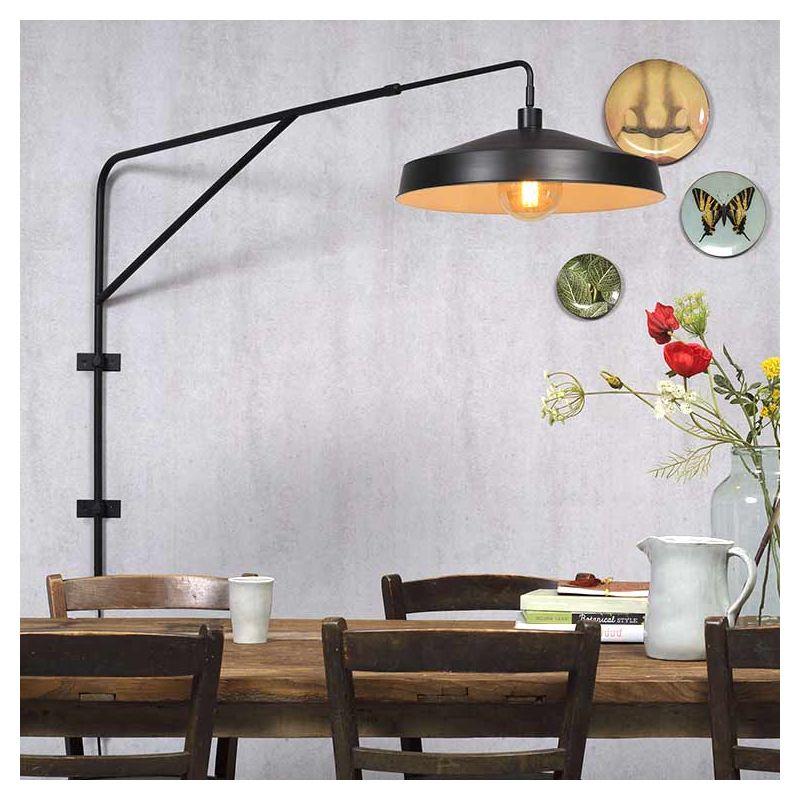 applique brighton it 39 s about romi industrielle noir cuivre. Black Bedroom Furniture Sets. Home Design Ideas