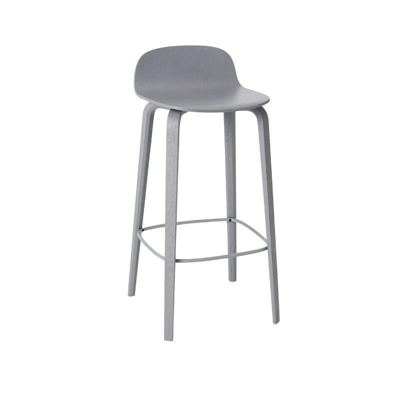 visu tabouret de bar en bois chaise de bar muuto. Black Bedroom Furniture Sets. Home Design Ideas