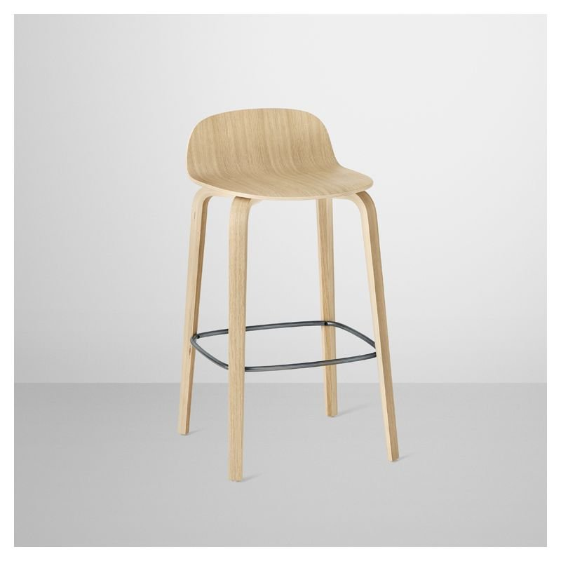 visu tabouret de bar en bois chaise de bar muuto. Black Bedroom Furniture Sets. Home Design Ideas