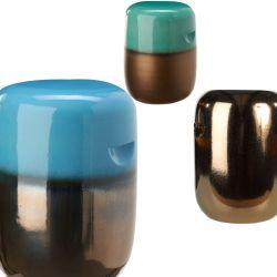 Tabourets design en céramique PILL Pols Potten