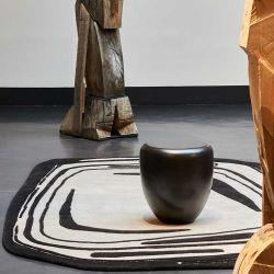 Tapis FRAGMENT Noir et Blanc, collection Designers Toulemonde Bochart