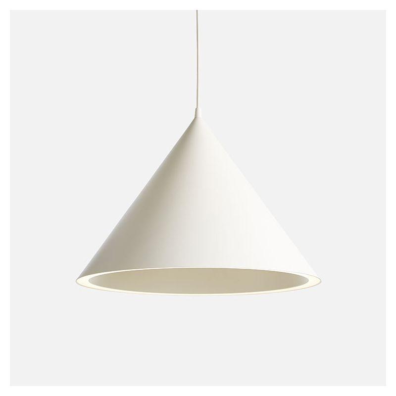 Suspension LEDs ANNULAR LARGE Woud coloris blanc