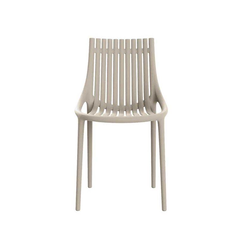Chaise outdoor IBIZA Vondom, coloris écru