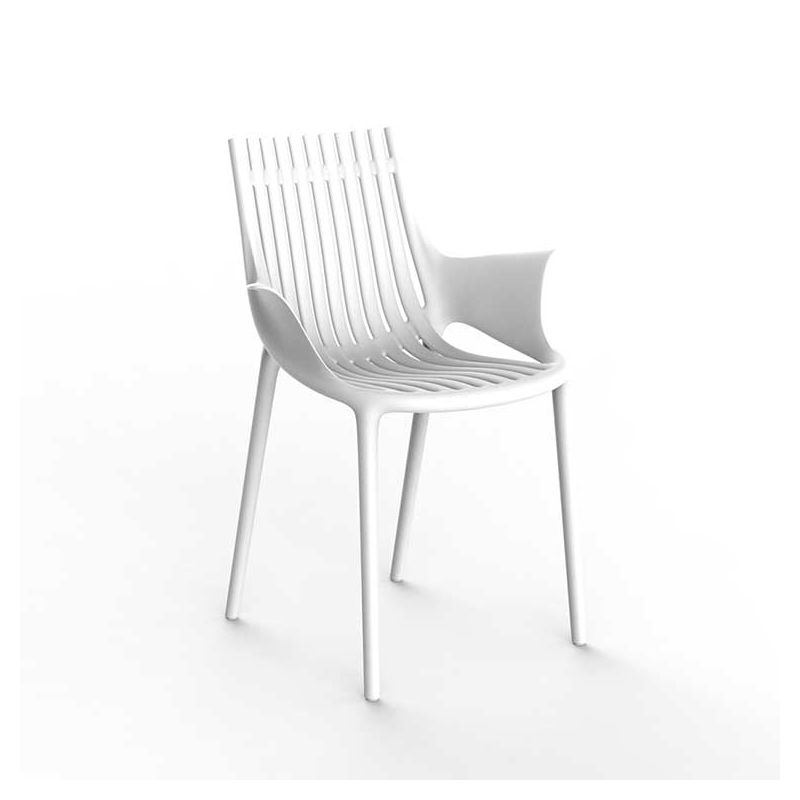 Fauteuil outdoor IBIZA Vondom, coloris blanc
