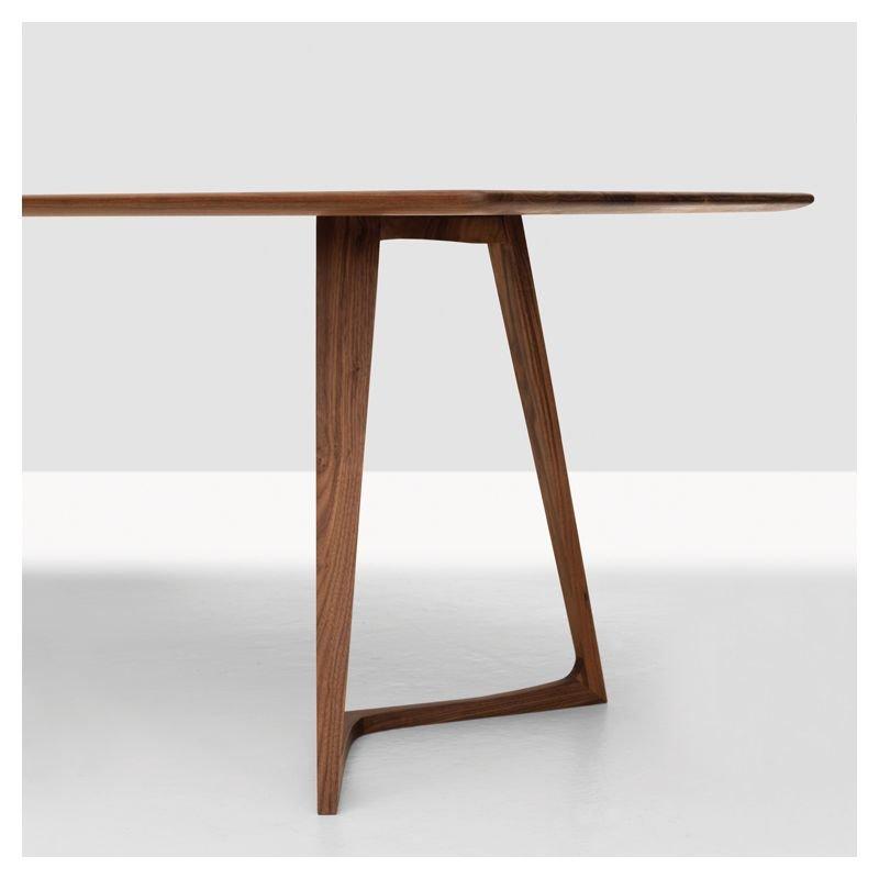 twist table repas rectangulaire design bois massif zeitraum. Black Bedroom Furniture Sets. Home Design Ideas