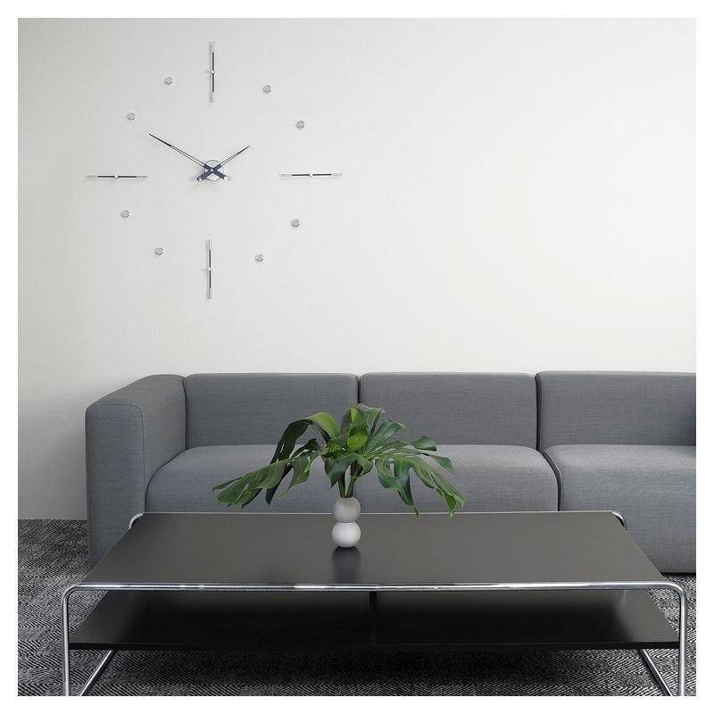 Grande horloge murale design mixto i nomon for Grande pendule murale design